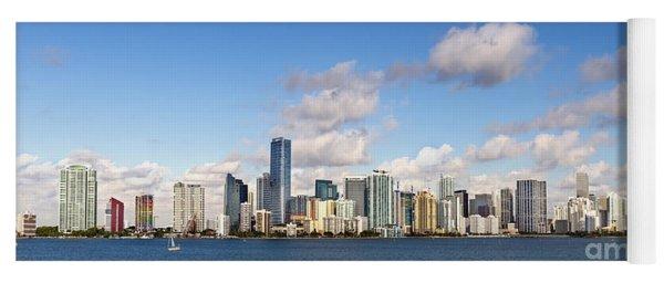 Miami Heat Yoga Mat