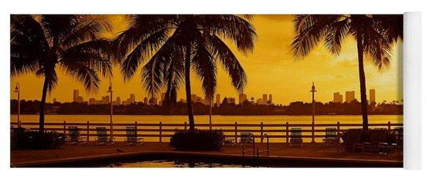 Miami South Beach Romance Yoga Mat