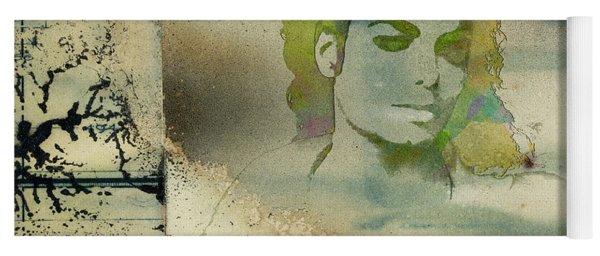 Michael Jackson Silhouette Yoga Mat