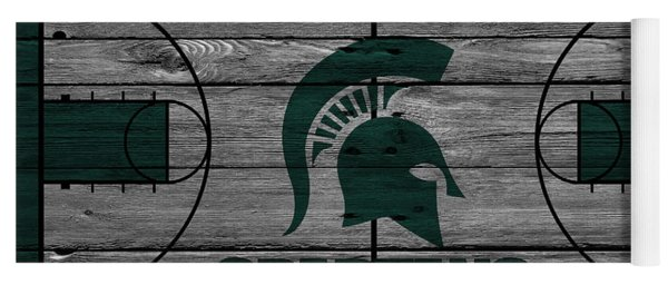 Michigan State Spartans Yoga Mat