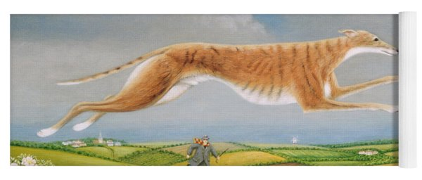 Mick The Miller, 1992 Oils And Tempera On Panel Yoga Mat