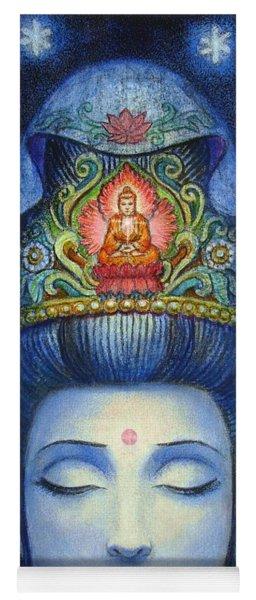 Midnight Meditation Kuan Yin Yoga Mat