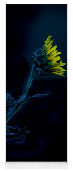 Midnight Sunflower Yoga Mat