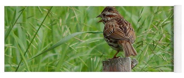 Mighty Sparrow Yoga Mat