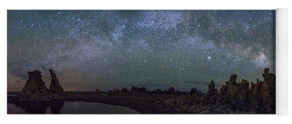 Milky Way At Mono Lake Yoga Mat