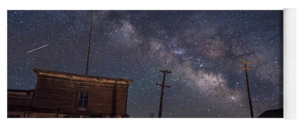 Milky Way Over Bodie Hotels Yoga Mat