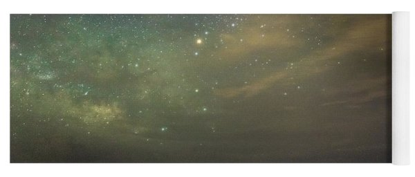 Milky Way Over Folly Beach Yoga Mat