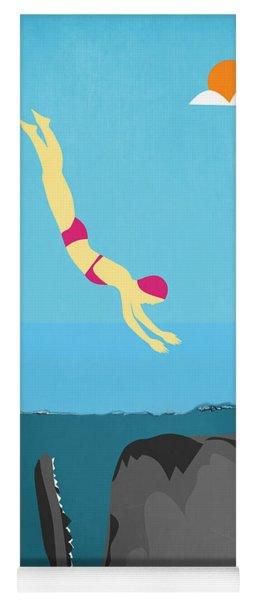 Minimal Sea Life  Yoga Mat