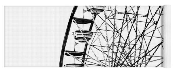 Minimalist Ferris Wheel - Square Yoga Mat