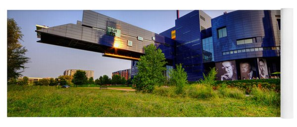 Minneapolis Guthrie Theater Summer Evening Yoga Mat