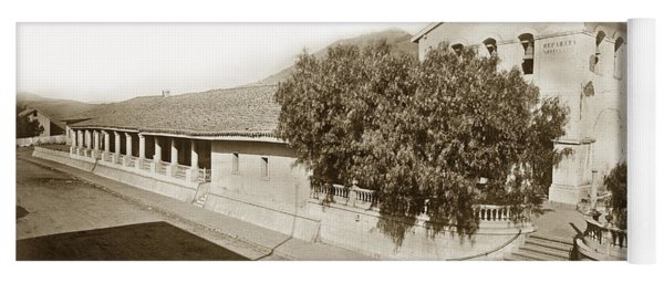 Mission San Luis Obispo De Tolosa California 1880  Yoga Mat