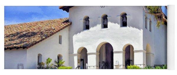 Mission San Luis Obispo De Tolosa Yoga Mat
