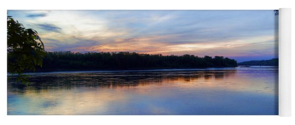 Missouri River Blues Yoga Mat