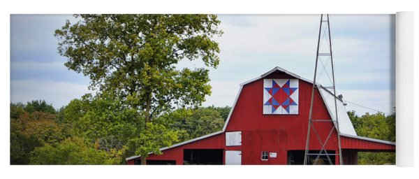 Missouri Star Quilt Barn Yoga Mat