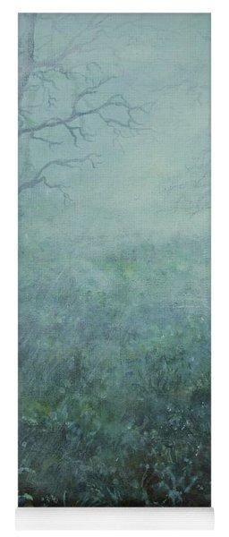 Mist On The Meadow Yoga Mat