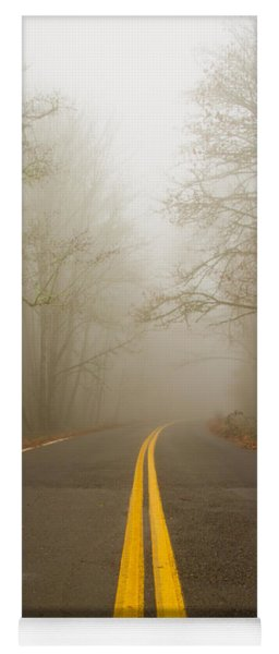 Misty Road Yoga Mat