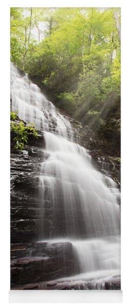 Misty Waterfall Yoga Mat