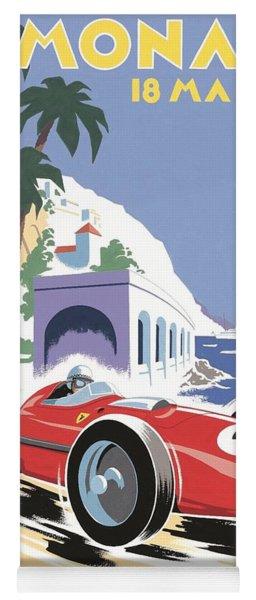 Monaco Grand Prix 1958 Yoga Mat