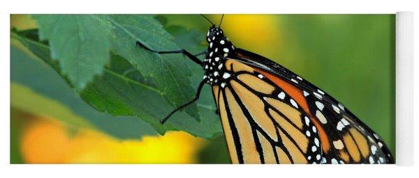 Monarch Butterfly Yoga Mat