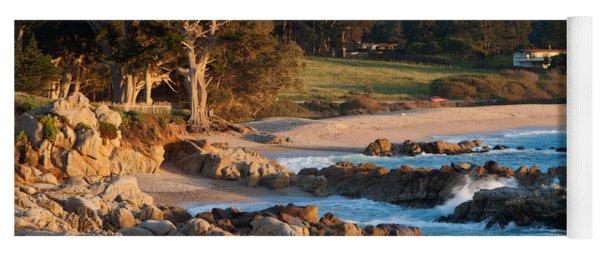Monastery Beach In Carmel California Yoga Mat