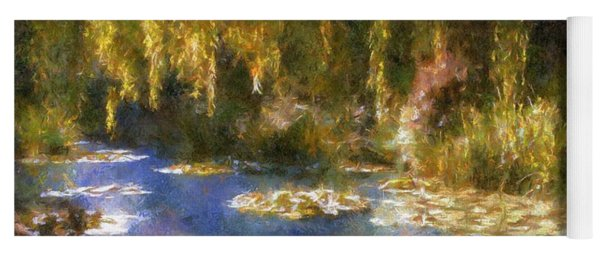 Monet After Midnight Yoga Mat