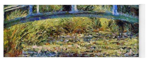 Monet's Bridge Yoga Mat