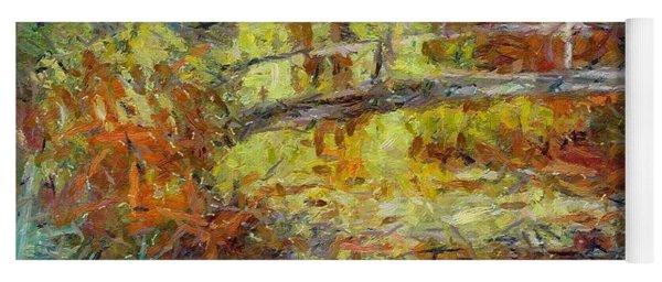 Monet's Japanese Bridge Yoga Mat
