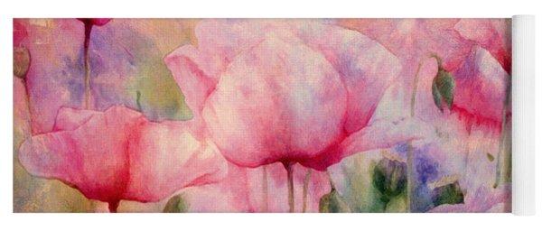 Monet's Poppies Vintage Warmth Yoga Mat