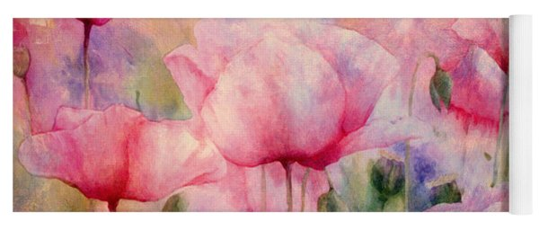 Monet's Poppies Vintage Warmth Yoga Mat