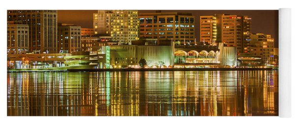 Monona Terrace Madison Wisconsin Yoga Mat