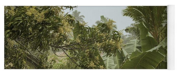 Monsoon Rains In Sri Lanka Yoga Mat