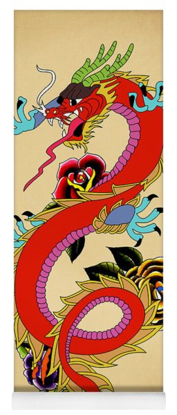 Monster Dragon  Yoga Mat