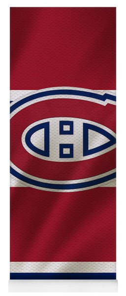 Montreal Canadiens Uniform Yoga Mat