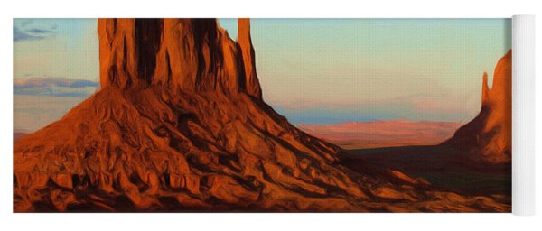 Monument Valley 2 Yoga Mat