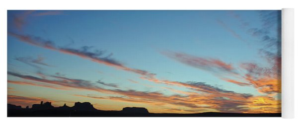 Monument Valley Sunset 2 Yoga Mat