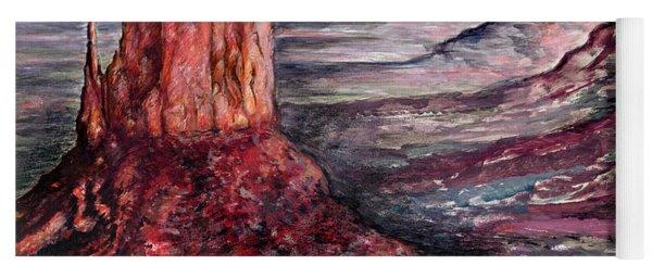 Monument Valley Arizona - Landscape Art Painting Yoga Mat