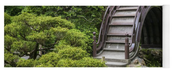 Moon Bridge - Japanese Tea Garden Yoga Mat