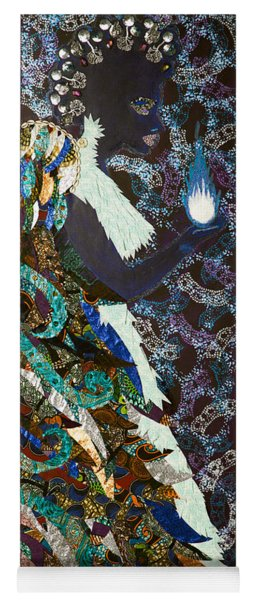 Moon Guardian - The Keeper Of The Universe Yoga Mat