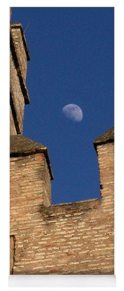 Moon Over Alcazar Yoga Mat