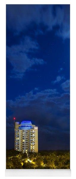 Moon Over Ft. Lauderdale Yoga Mat