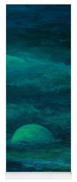 Moonlight On The Water Yoga Mat
