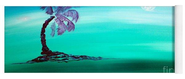 Moonlit Palm Yoga Mat