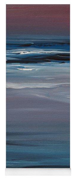 Moonlit Waves At Dusk Yoga Mat