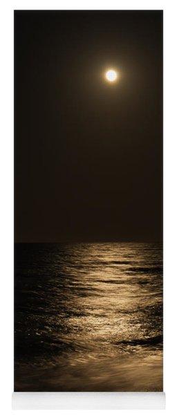 Moon Over Water Yoga Mat