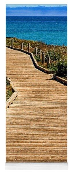 Moonstone Beach Park By Diana Sainz Yoga Mat