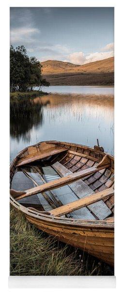 Moored On Loch Awe Yoga Mat