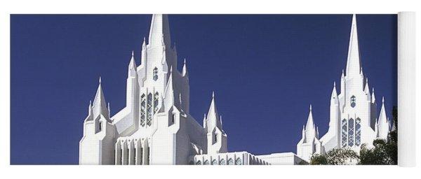 Mormon Temple Yoga Mat