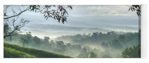 Morning Mist Yoga Mat