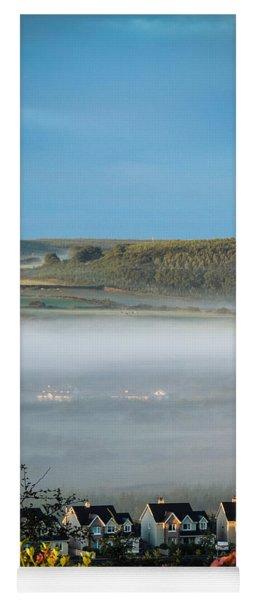 Morning Mist Over Lissycasey Yoga Mat