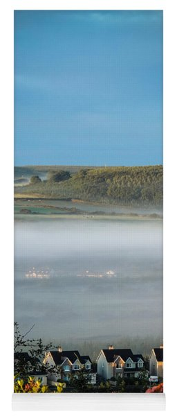 Morning Mist Over Lissycasey Yoga Mat